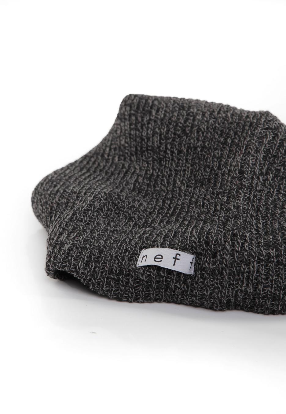 Neff - Daily Heather Black Grey - Beanie - Streetwear Shop ... 3f8a489b96077