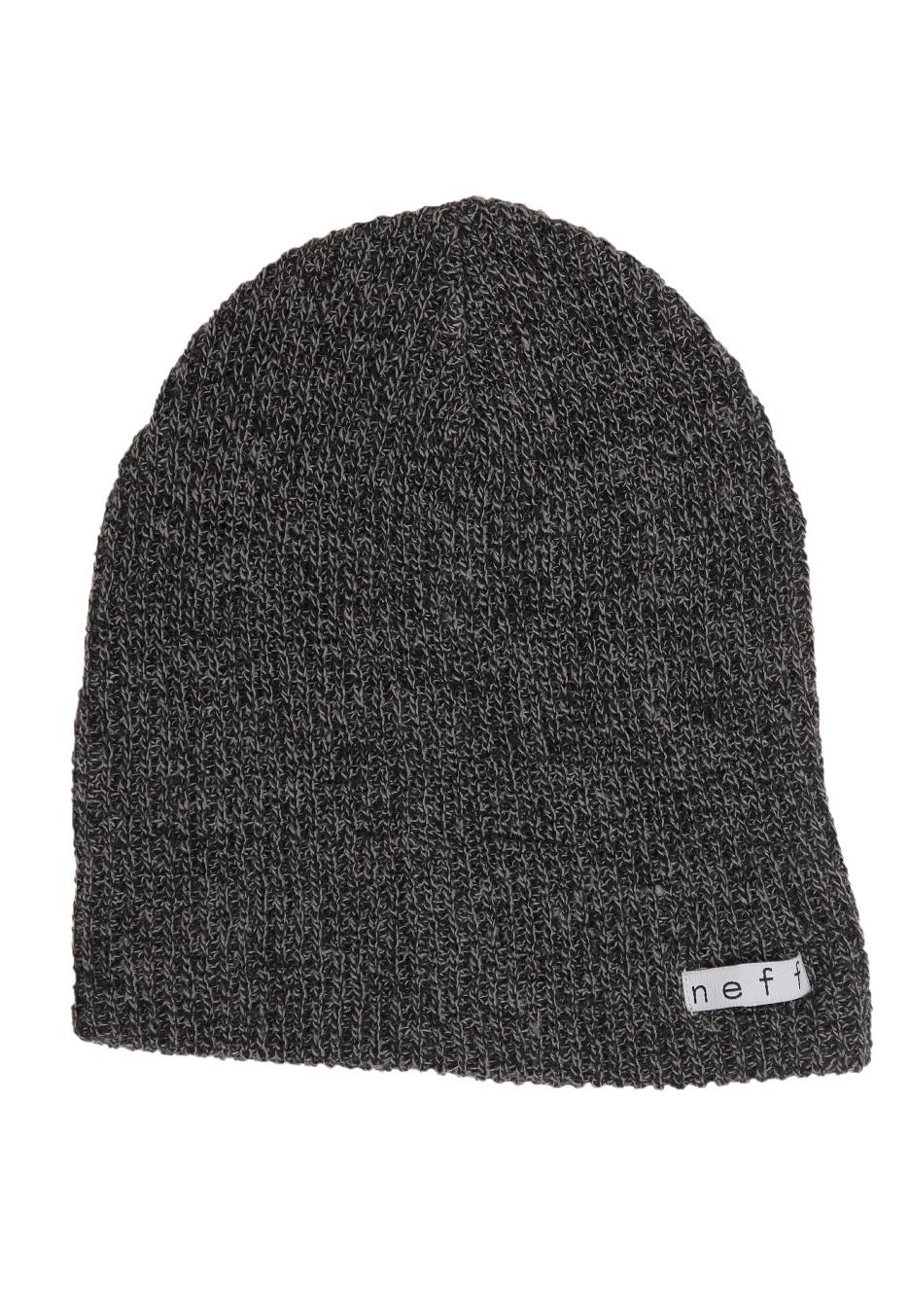 7622af4caa1 Neff - Daily Heather Black Grey - Beanie - Streetwear Shop - Impericon.com  US