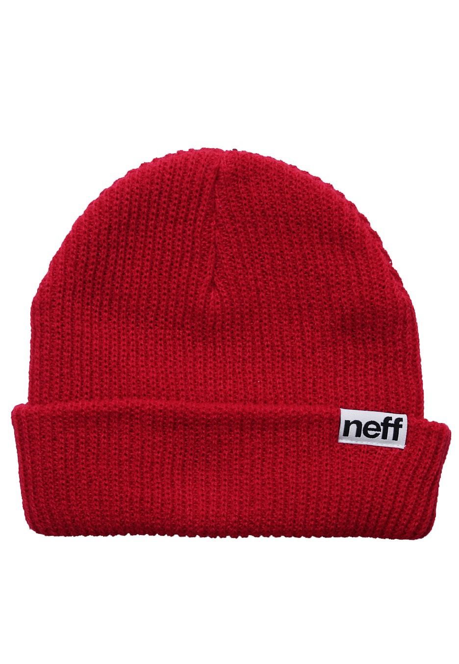 Neff - Fold Red - Beanie - Streetwear Shop - Impericon.com Worldwide cd8766f07fe