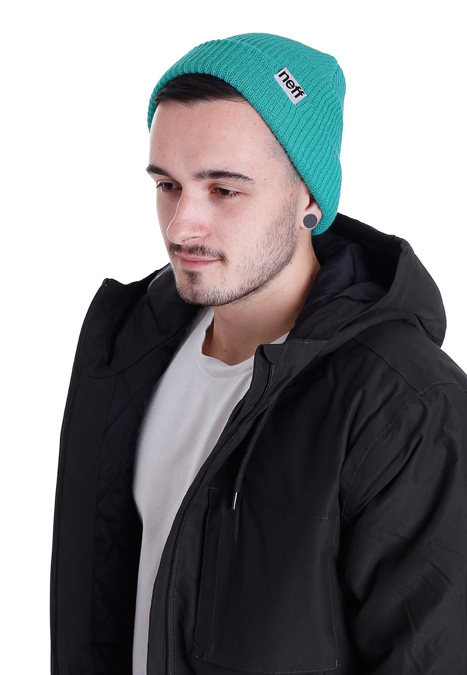 f6c9c47fa3a Neff fold teal beanie streetwear shop jpg 936x1353 Neff beanies tumblr