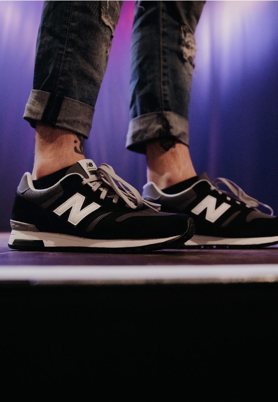 New Balance - ML565CBK Black - Sneakers