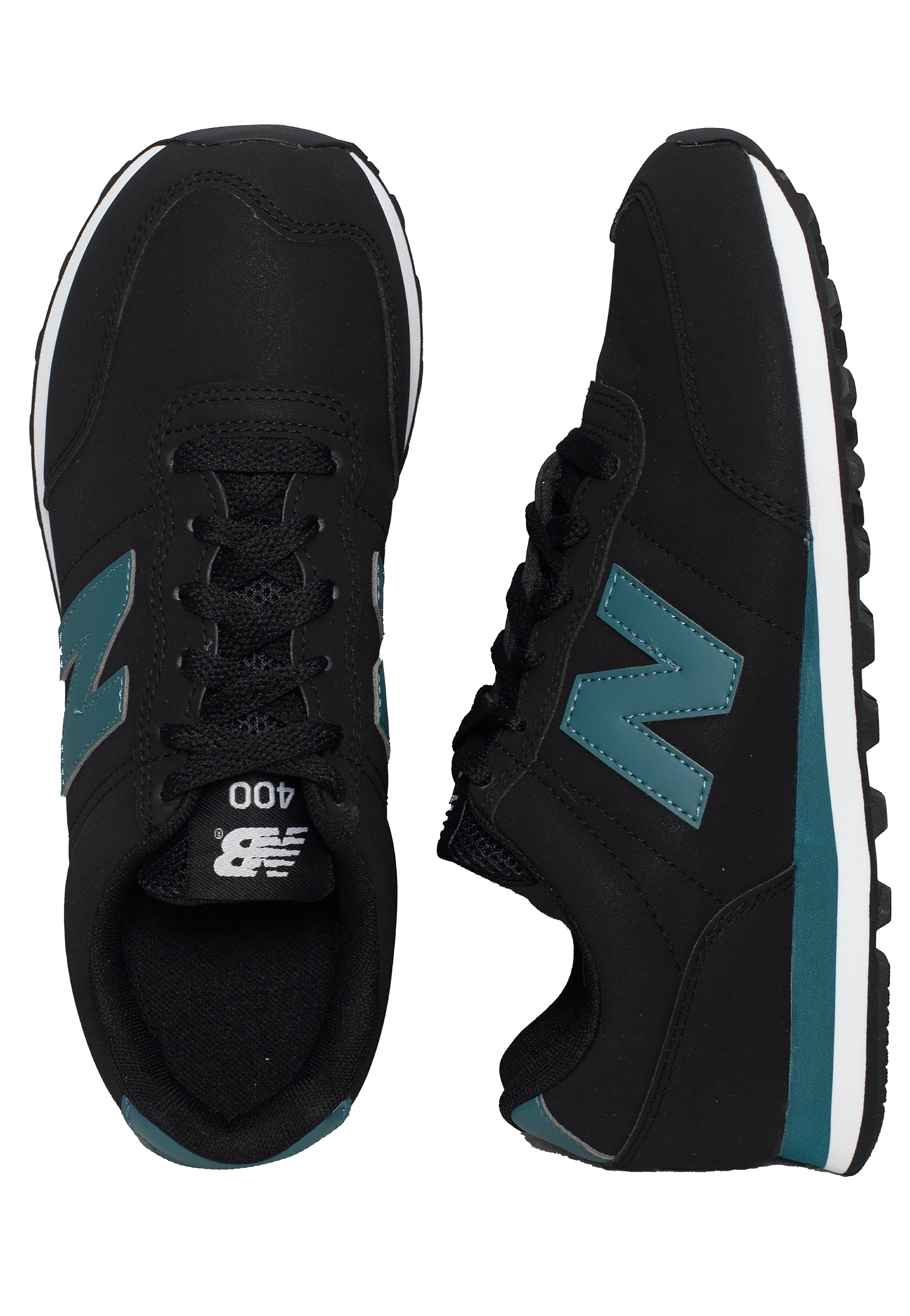 New Balance - GM400V1 Black/Mountain Teal - Sneakers