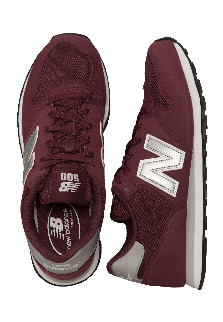 new balance maroon sneakers