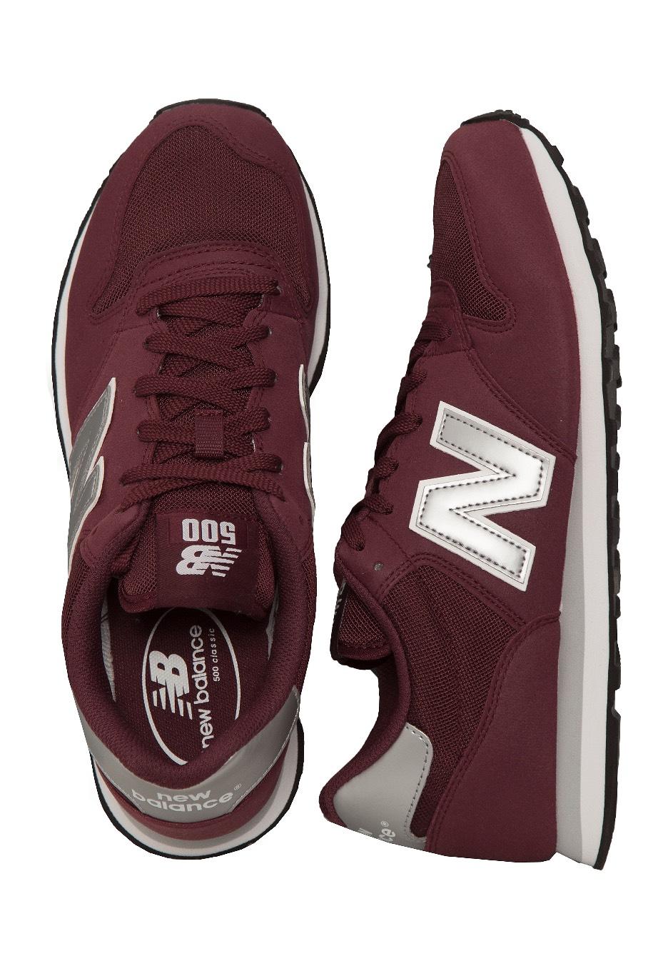 New Balance - GM500 D Burgundy - Shoes 01cbe66d3b8