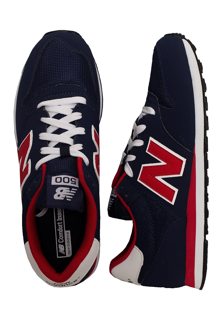 new balance gm500 navy