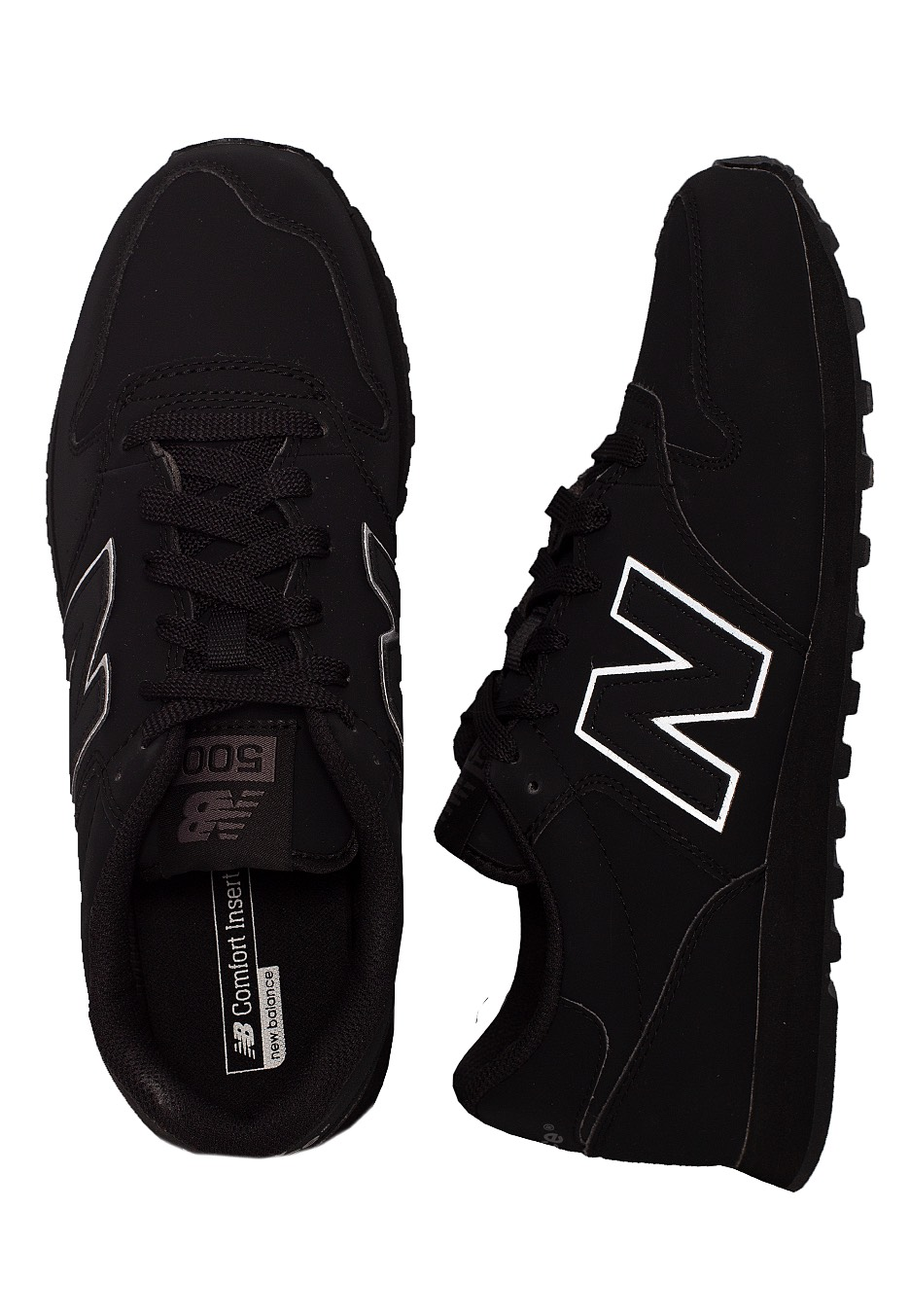 Apariencia Gorrión Complacer  New Balance - GM500 TRB Black - Shoes - Impericon.com US
