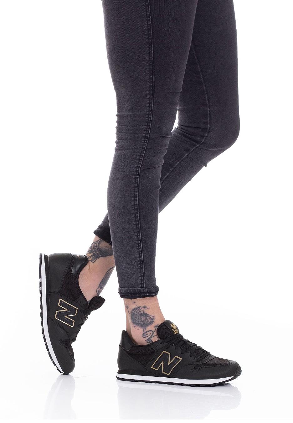 New Balance - GW500 B KGK Black/Gold - Girl Shoes - Impericon.com ...