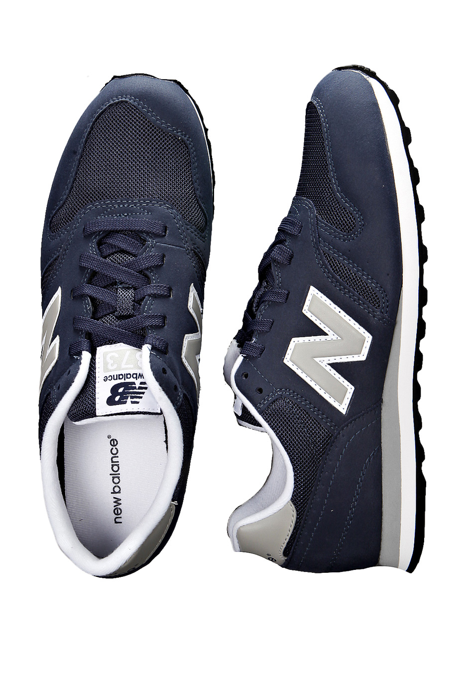 new balance 373 navy blue pink