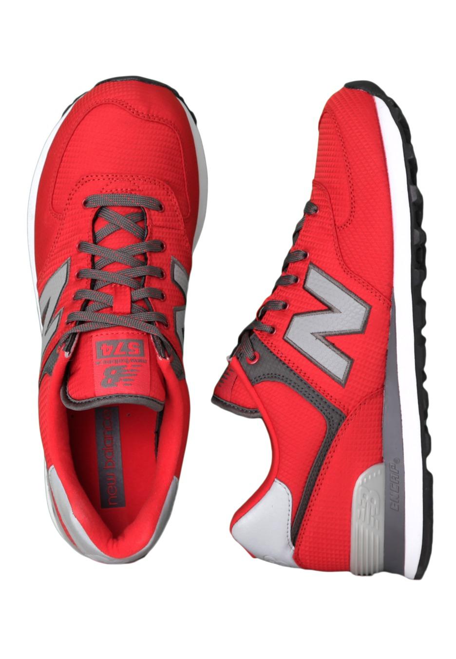 half off b1b6a 57d90 New Balance - ML574 Red/Black - Shoes