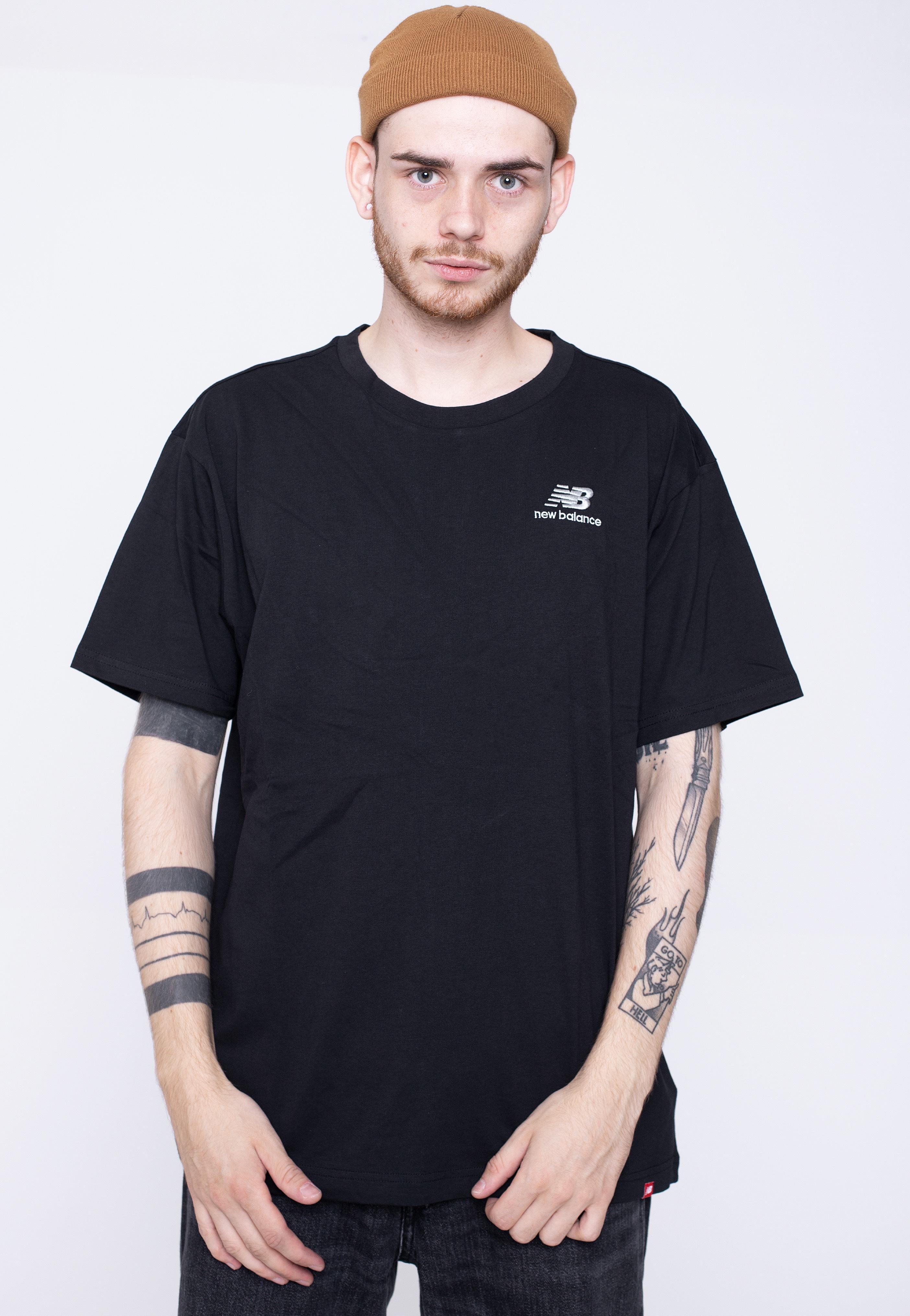 New Balance - MT11592 Black - - T-Shirts