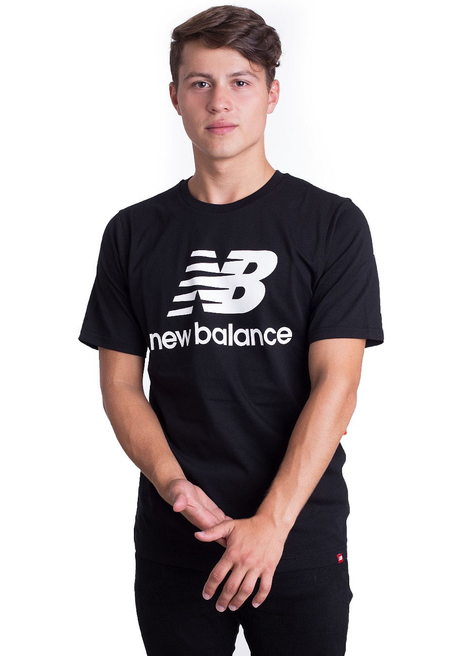 New Balance - MT83530 Black - T-Shirt - Impericon.com US