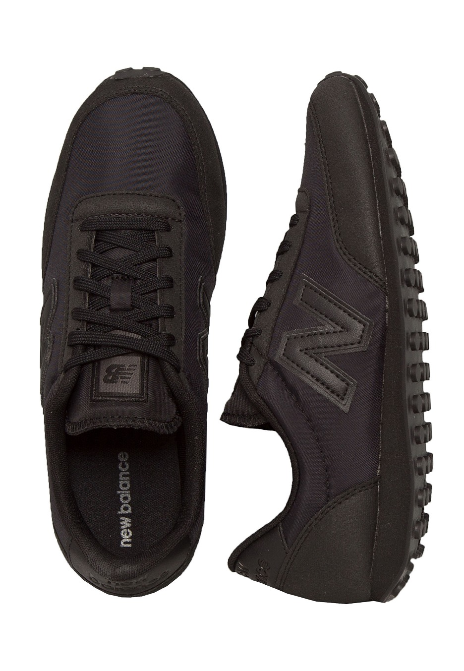 meilleure sélection c4c98 2c549 New Balance - U410 D Black - Girl Shoes