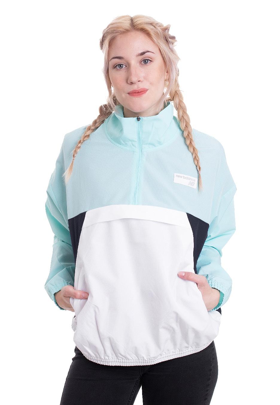 Jacken für Frauen - New Balance WJ91557 Light Reef Jacken  - Onlineshop IMPERICON