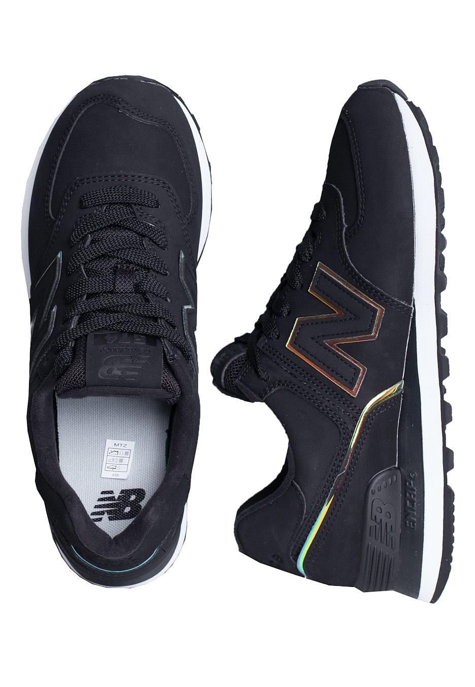 New Balance - Wl574 B CLG Black - Sneakers
