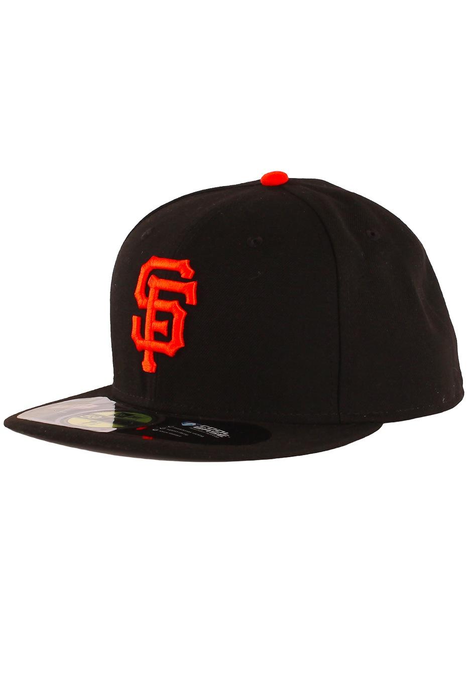 72b8e3a517928 New Era - AC Performance San Francisco Giants Game Black Orange - Cap -  Streetwear Shop - Impericon.com UK