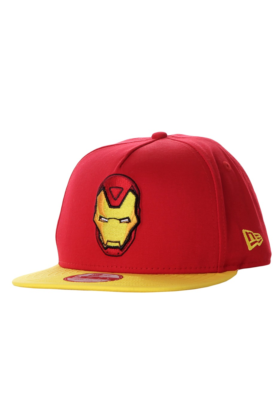 New Era - Basic Badge 9Fifty Ironman Red - Cap - Impericon.com Worldwide ba864dac724d