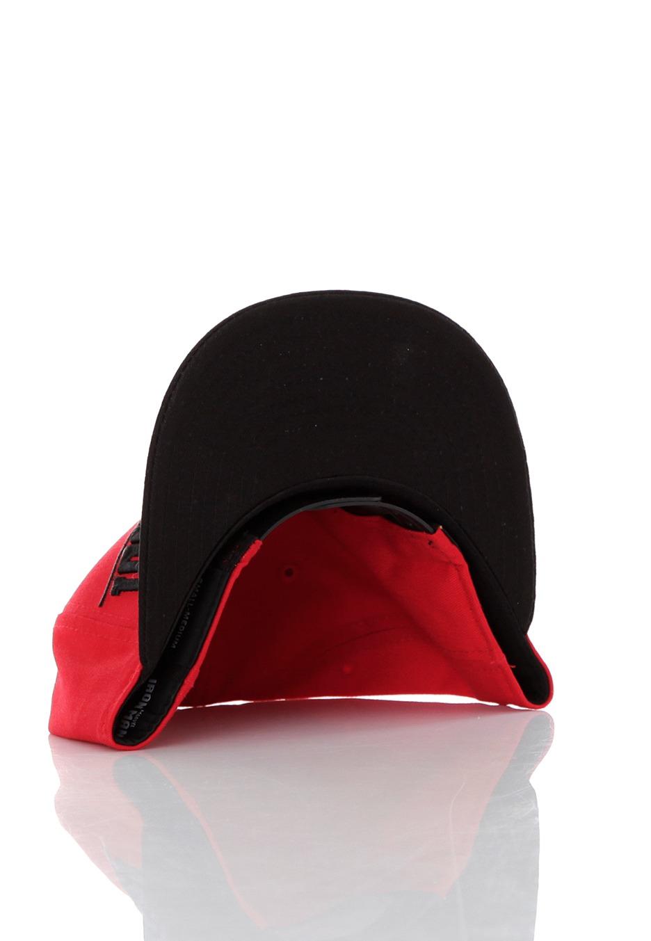 4c9a4f6f9 New Era - Breaker Snap Ironman Red/Black Snapback - Cappello ...