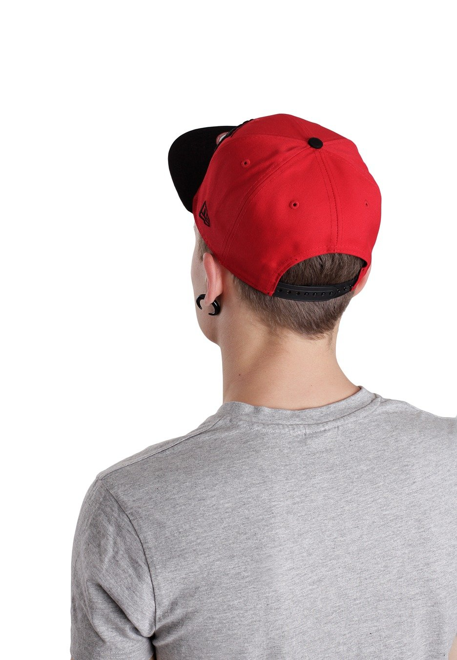 4c9a4f6f9 New Era - Breaker Snap Ironman Red/Black Snapback - Cappello ...