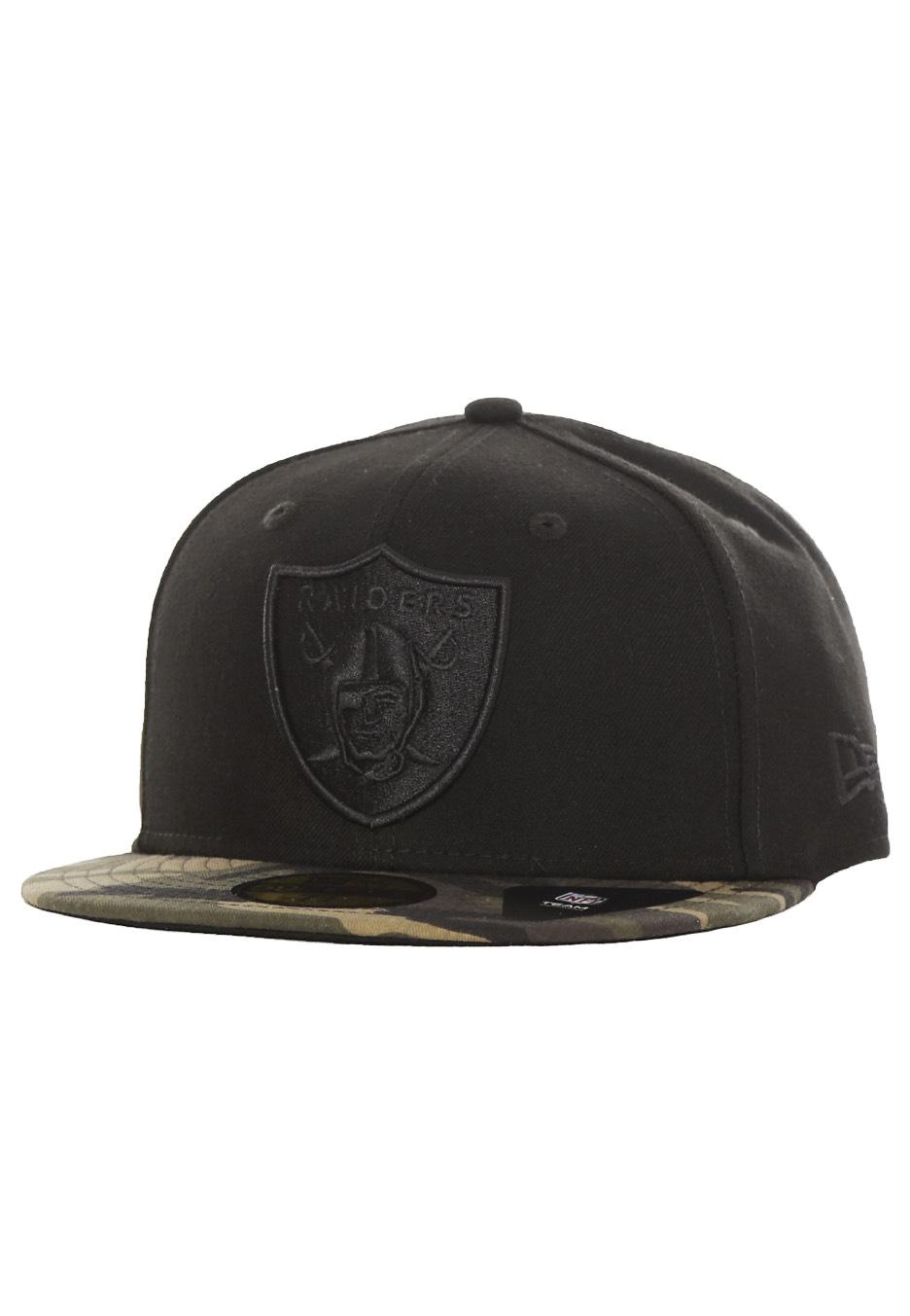 New Era - Camo 59Fifty Oakland Raiders Black Woodland Camo - Cap -  Streetwear Shop - Impericon.com UK c852f97579f