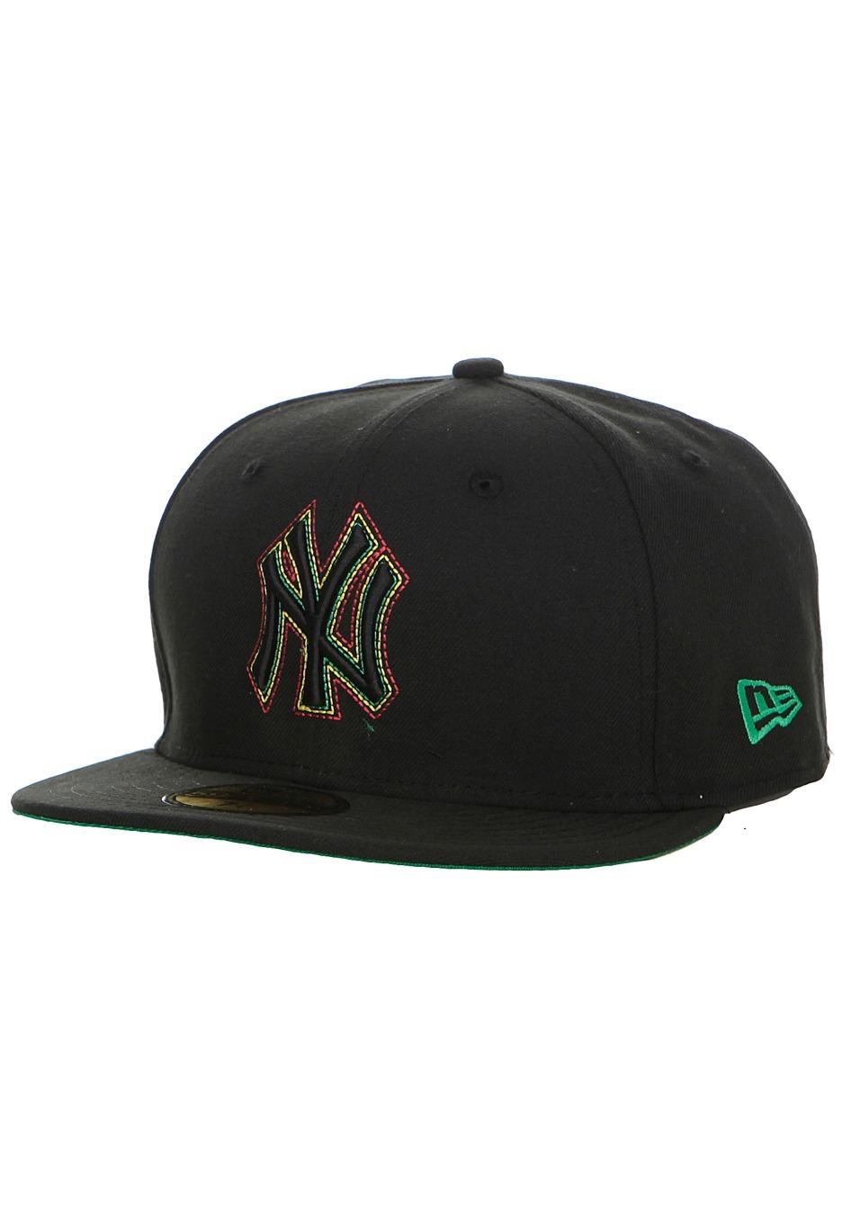 New Era - Chain Pop New York Yankees Black Kelly Yellow Scarlet - Cap -  Impericon.com UK c3ad15af26e