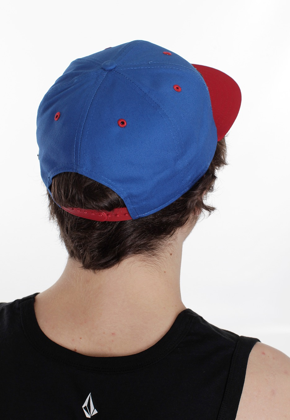 ... New Era - Comic Panel Captain America Blue/Red Snapback - Cap