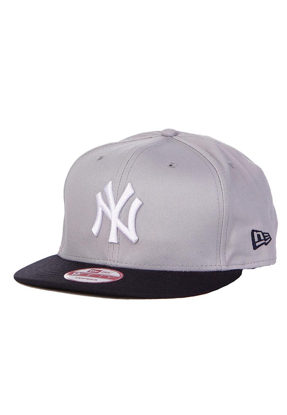 dc868a8b4d5 New Era - Cotton Block I New York Yankees Grey Team Snapback - Cap - Streetwear  Shop - Impericon.com AU