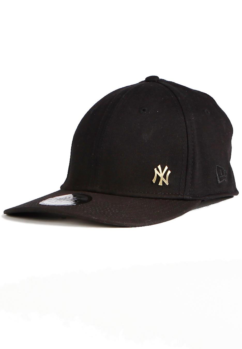 e7c976da998 New Era - Flawsheen 3930 New York Yankees Black Gold - Cap - Streetwear  Shop - Impericon.com UK
