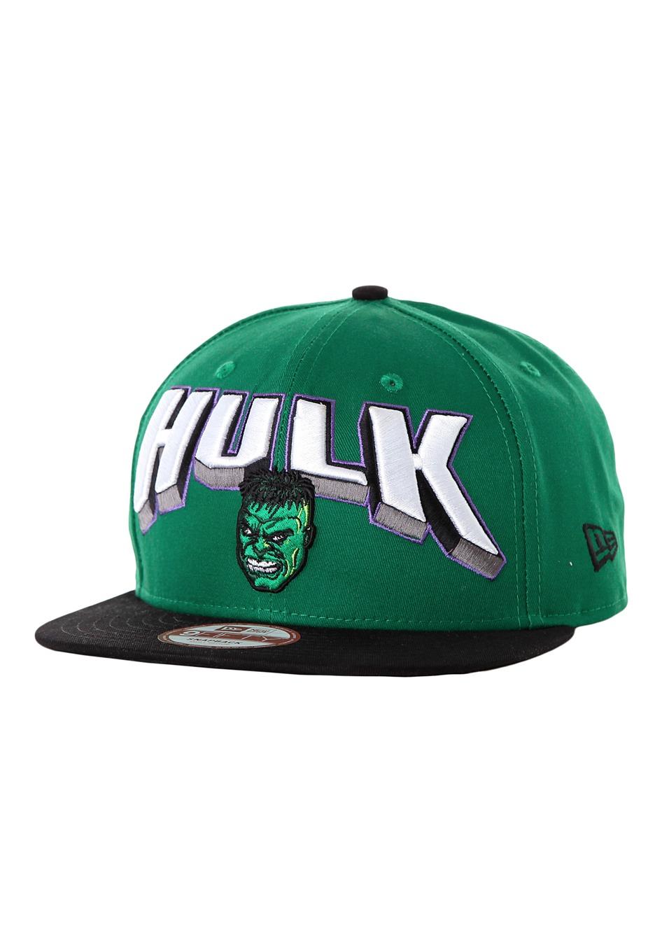 99a46fc59de New Era - Hero Block Hulk Green Black Snapback - Cap - Impericon.com US
