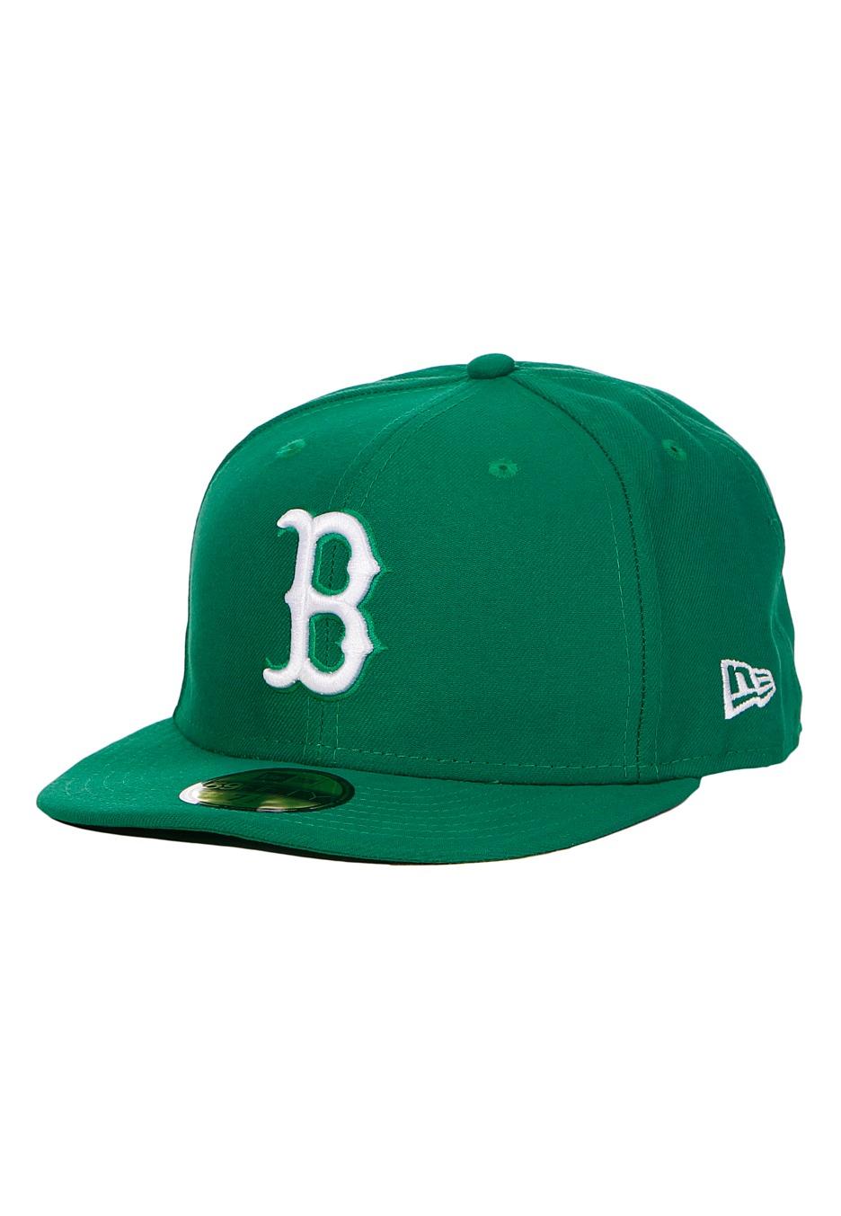 9130191e41bd9 New Era - League Basic MLB Boston Red Sox Kelly White - Cap - Streetwear  Shop - Impericon.com Worldwide