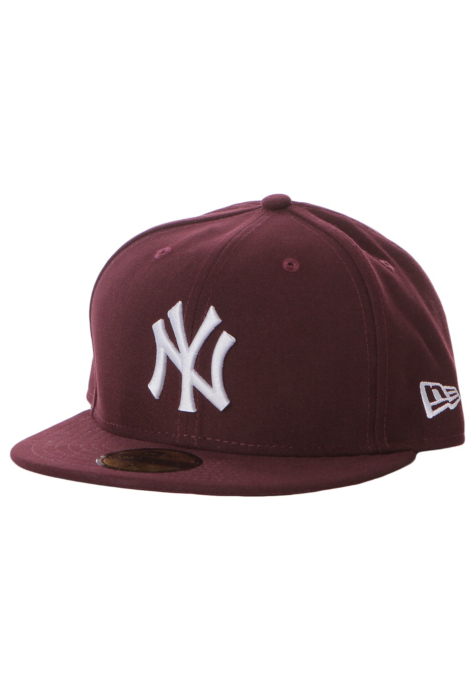 New Era - League Basic MLB New York Yankees Maroon White - Cap - Streetwear  Shop - Impericon.com Worldwide 89e8035a090