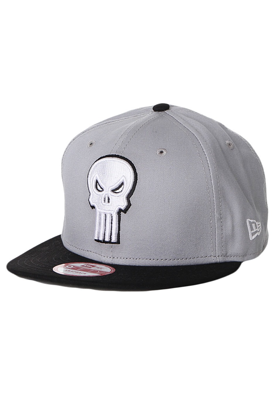 New Era - Reverse Hero Punisher Official Black Grey Snapback - Cap -  Impericon.com UK 57bca23e3a1