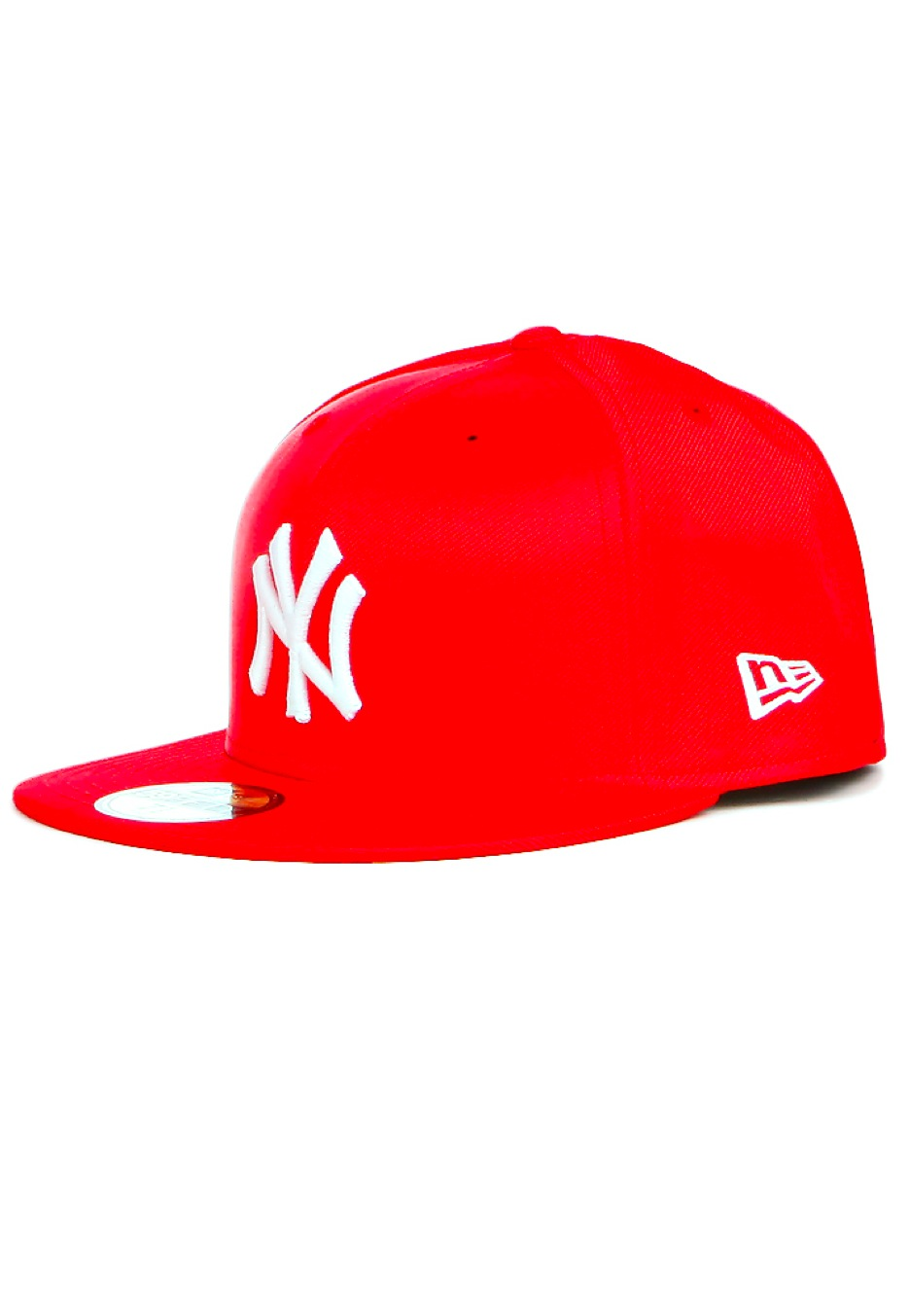 New Era - Straight Across New York Yankees Scarlet White - Cap - Streetwear  Shop - Impericon.com Worldwide c0a5a4a8e70