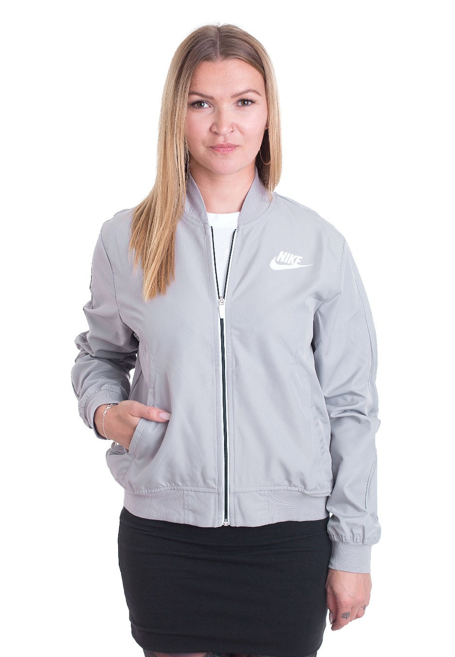 150185fec0 Nike - Advance 15 Atmosphere Grey White - Jacket - Streetwear Shop ...