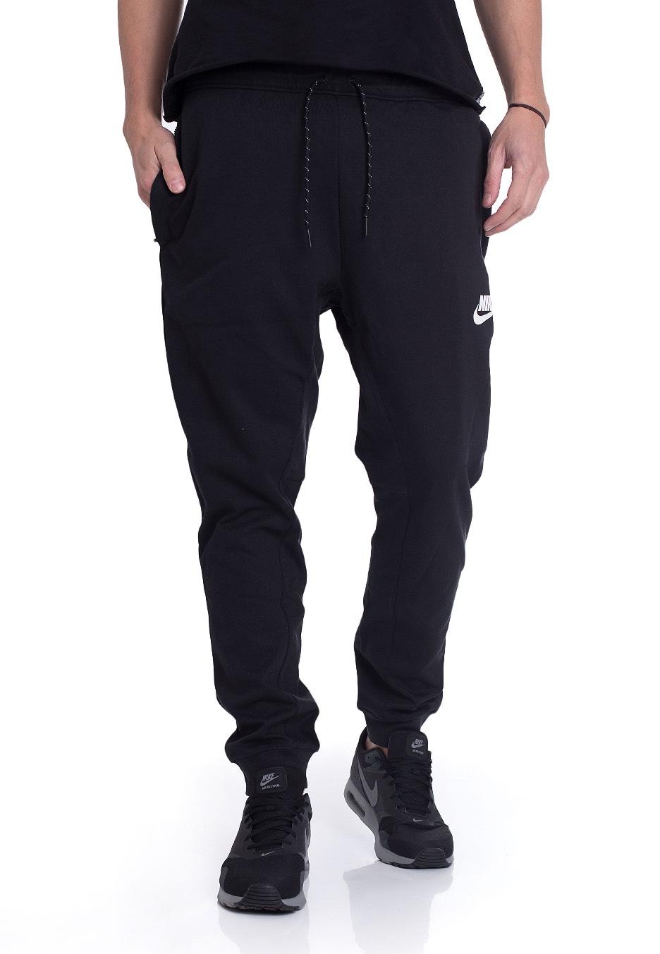 c2b3700ea Nike - Advance 15 Black/Black/White - Sweat Pants - Streetwear Shop -  Impericon.com Worldwide