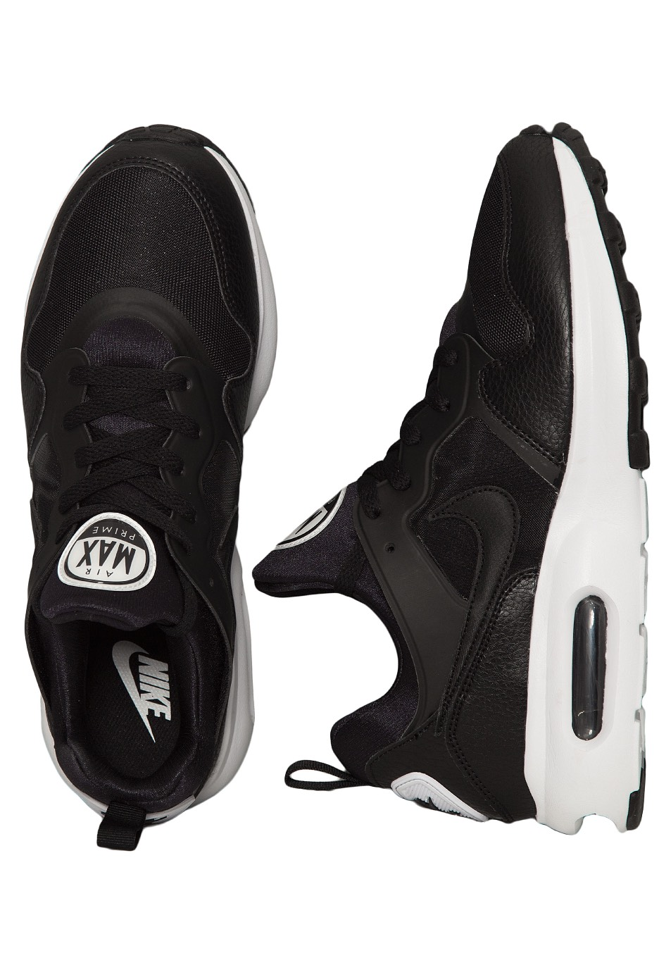 check out 1a3cf 35b7c Nike - Air Max Prime Black Black White - Chaussures - Impericon.com FR