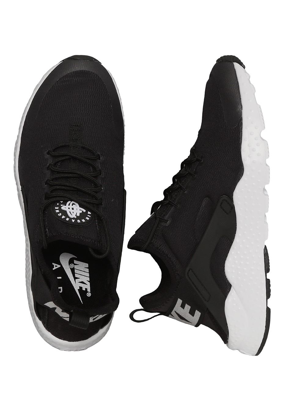 84c3dd8ff83d1 Nike - Air Huarache Run Ultra Black White - Girl Shoes - Impericon.com US