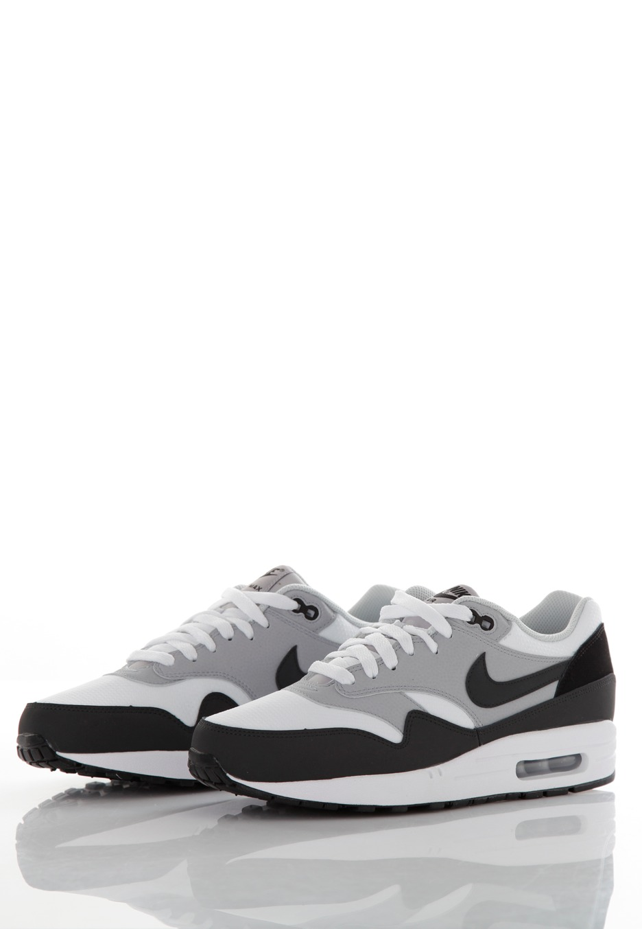 premium selection 84542 0e3c5 ... Nike - Air Max 1 Essential White Anthracite Wolf Grey Black - Shoes ...