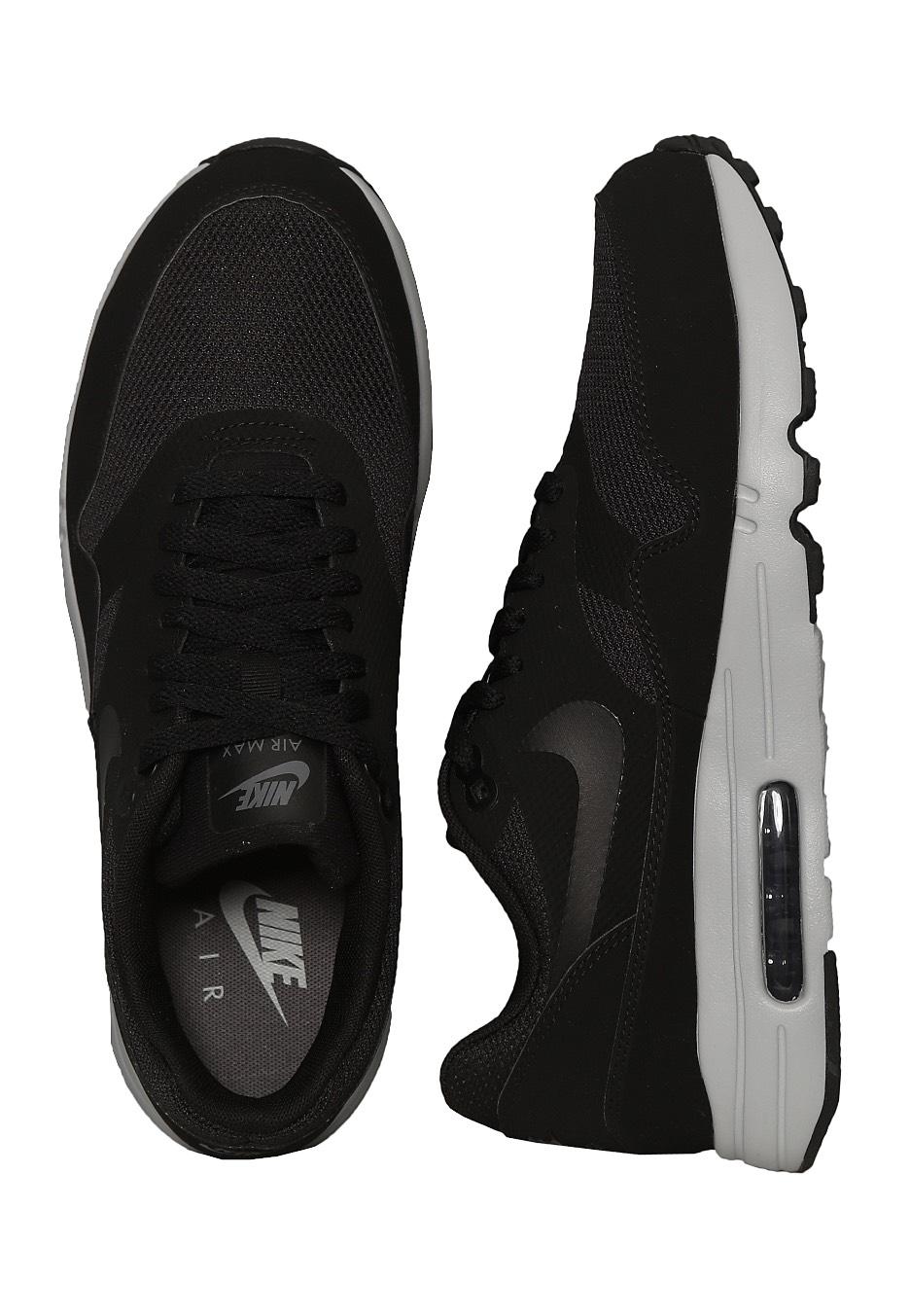6d0ac387dde248 Nike - Air Max 1 Ultra 2.0 Essential Black Black Wolf Grey Dark Grey -  Shoes - Impericon.com US