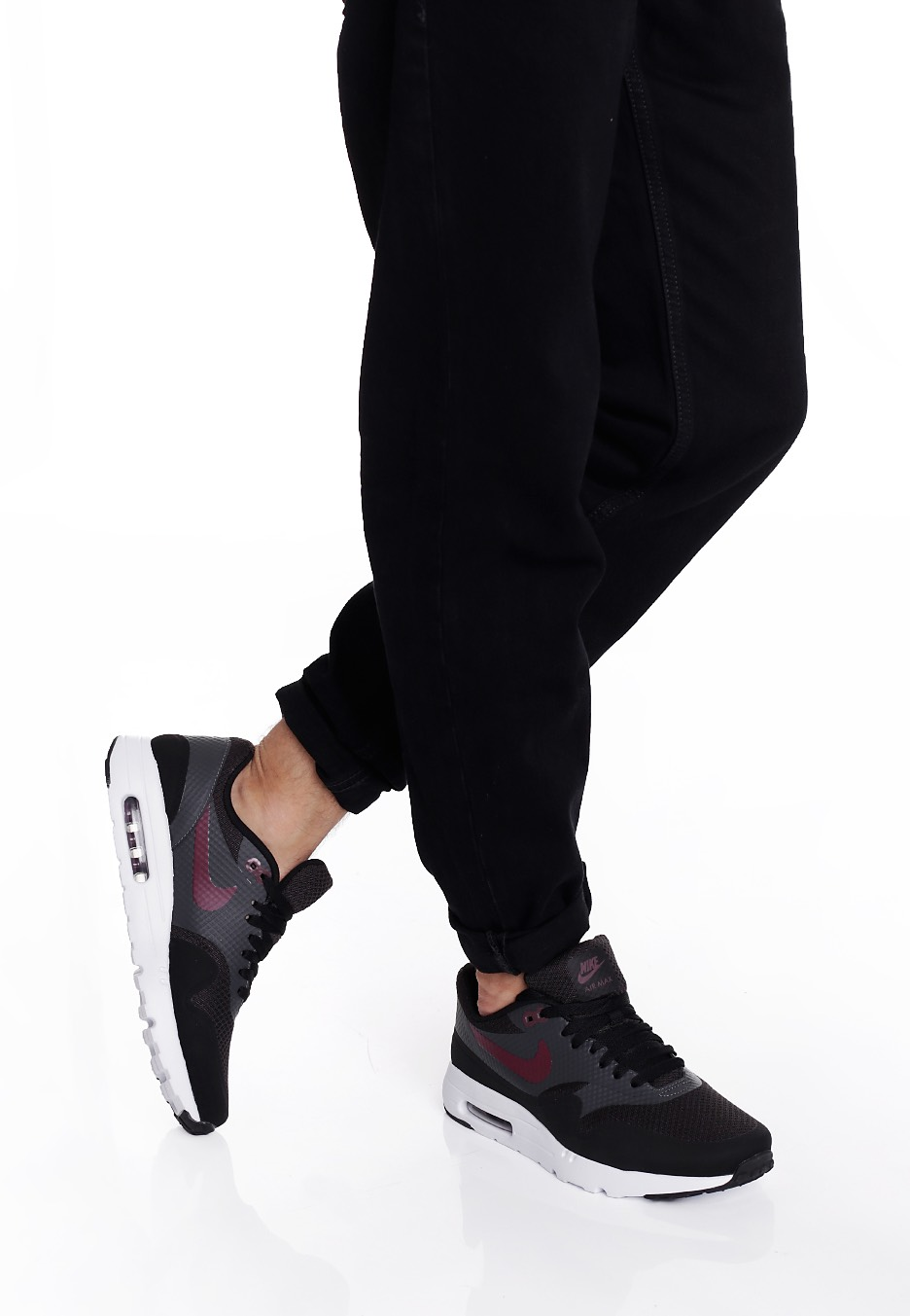quality design f4438 8f929 ... shop nike air max 1 ultra essential black night maroon anthracite white  07688 f501c