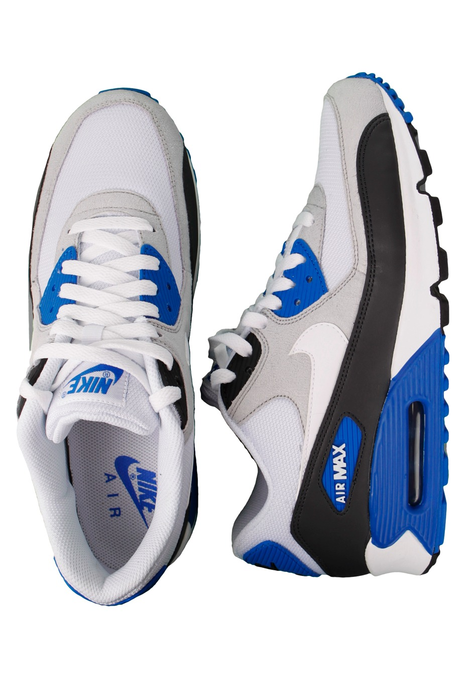 1390407ded5f ... Nike - Air Max 90 AnthraciteWhiteObsidianSoar - Shoes - Impericon.com  UK Air Max 90 Black White ...