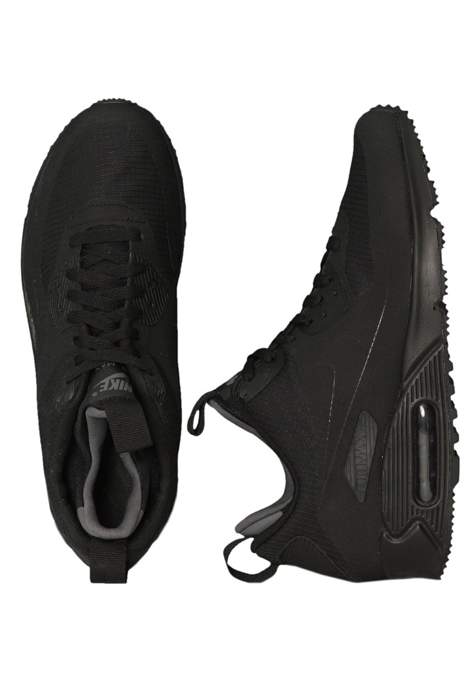 24a2975786c900 Nike - Air Max 90 Mid Winter Black Black - Shoes - Impericon.com Worldwide
