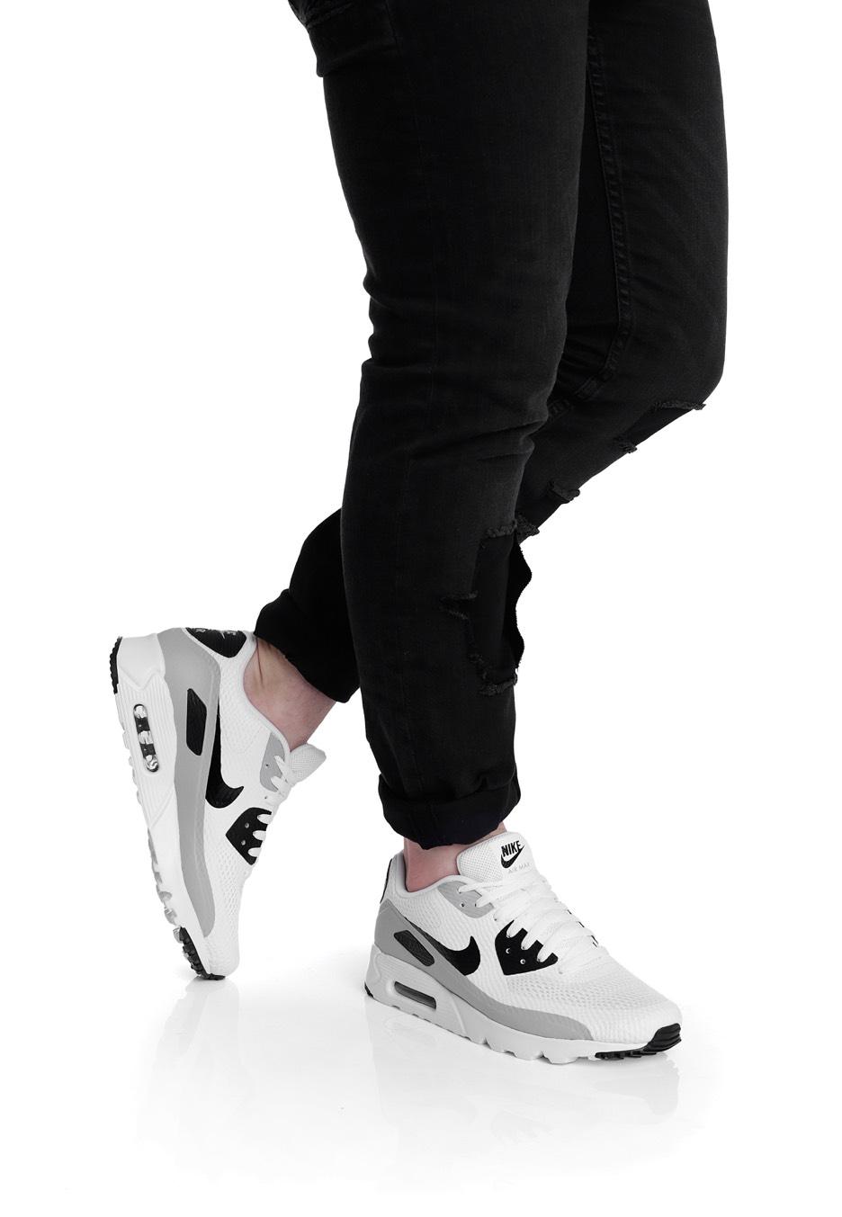 pretty nice e7634 80dd6 ... Nike - Air Max 90 Ultra Essential White Black Wolf Grey - Shoes