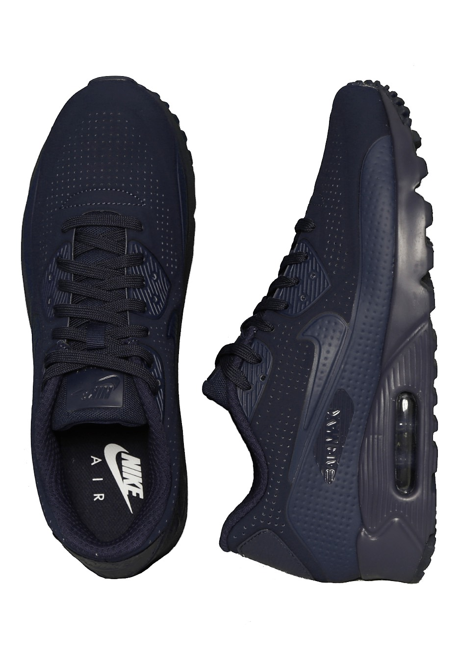 b7cb53d120b081 Nike - Air Max 90 Ultra Moire Midnight Navy Midnight Navy White - Shoes -  Impericon.com UK
