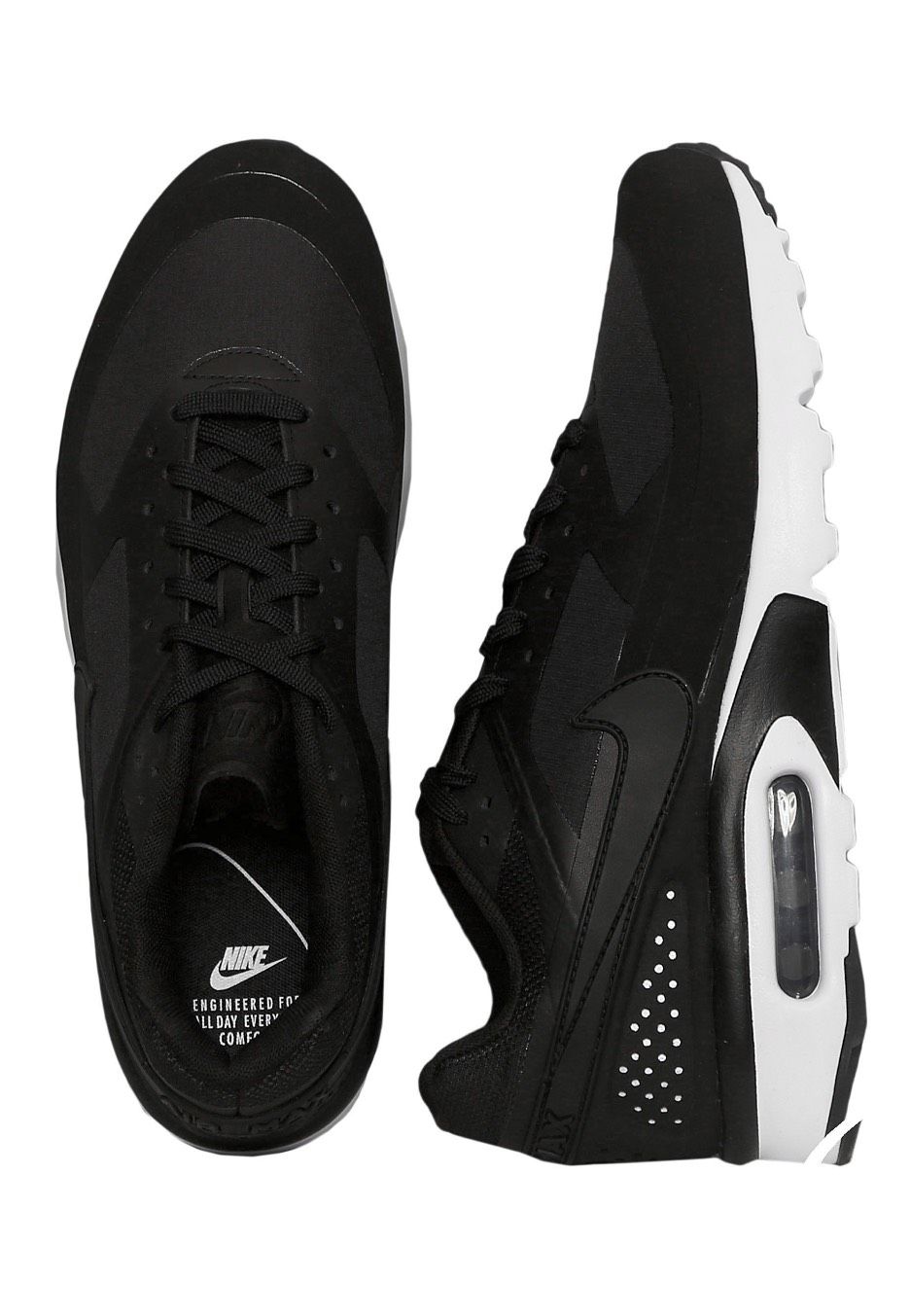 the best attitude d1308 80b1b Nike - Air Max BW Ultra Black Black Black White - Shoes - Impericon.com US