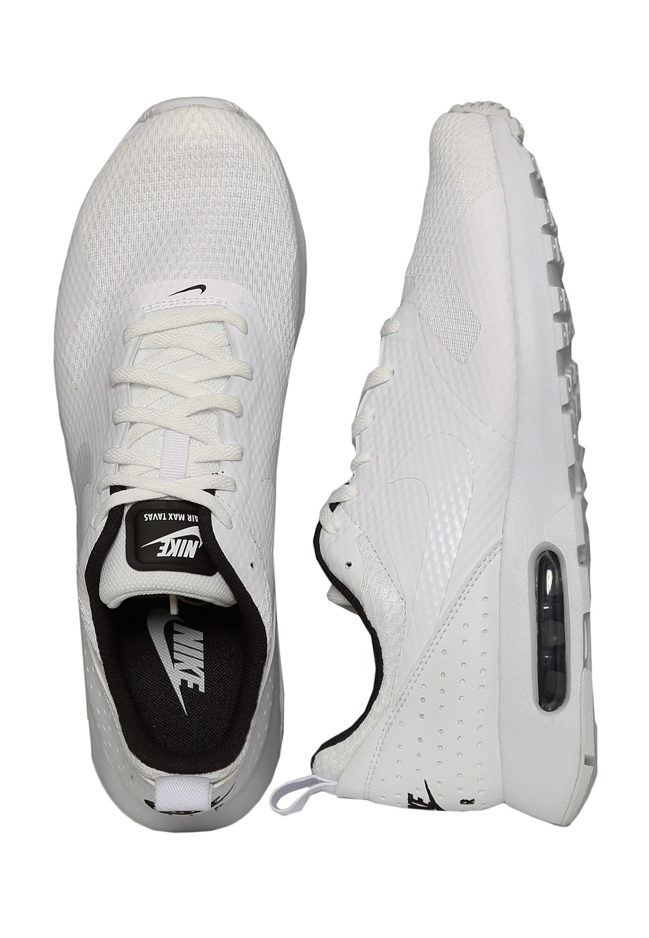 pretty nice df108 99783 Nike - Air Max Tavas White White Black - Shoes - Impericon.com UK