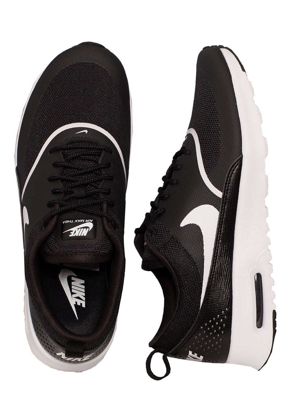 fb869ca98f Nike - Air Max Thea Black/White - Girl Shoes - Impericon.com UK
