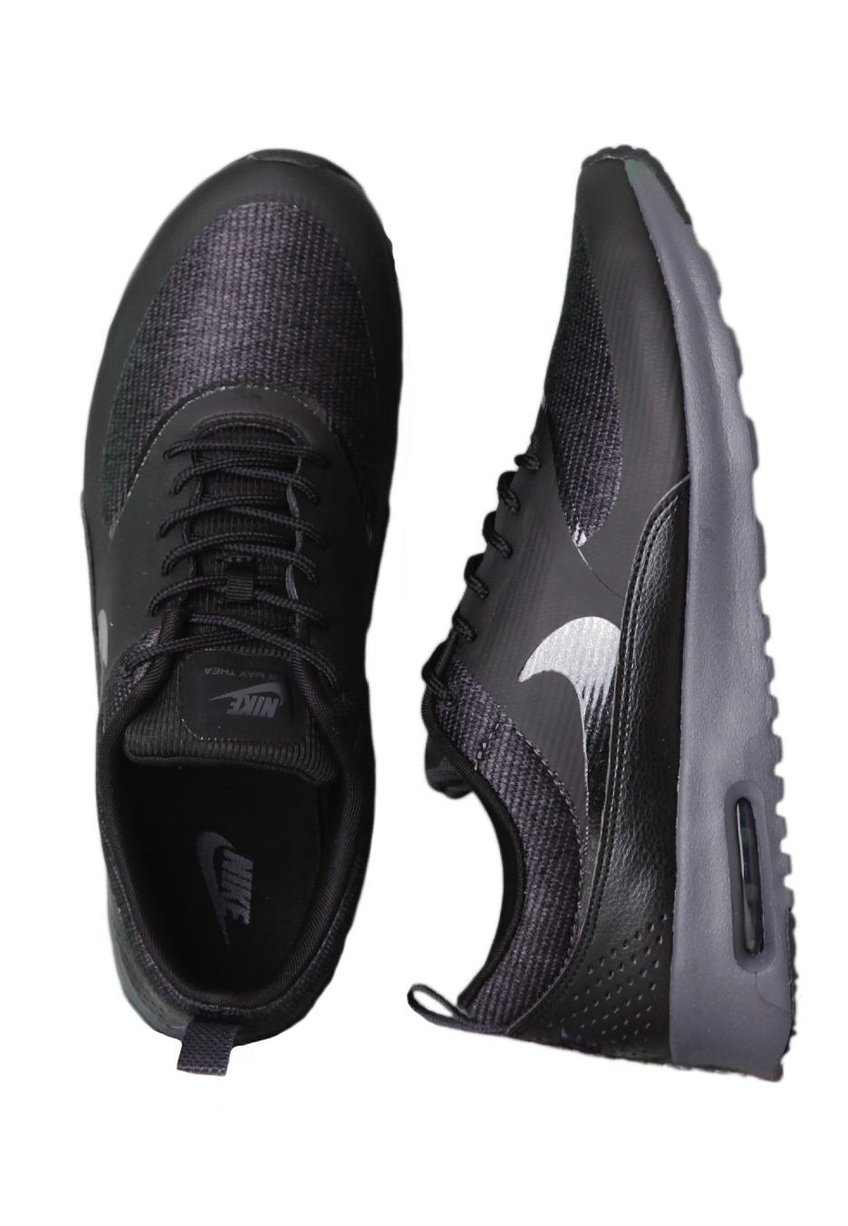 nike air max thea all black