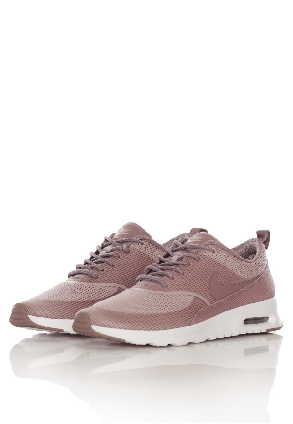 low priced 6b3ce 5604c ... australia nike air max thea textil plum fog purple smog white girl shoes  1a5ab 27750
