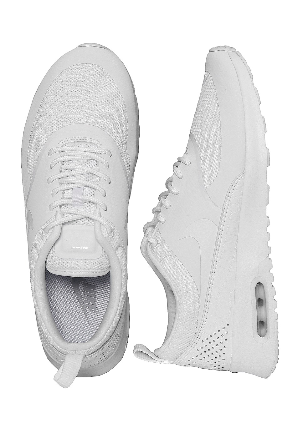 Nike - Air Max Thea White  White White - Girl Shoes - Impericon.com UK cfab1915e