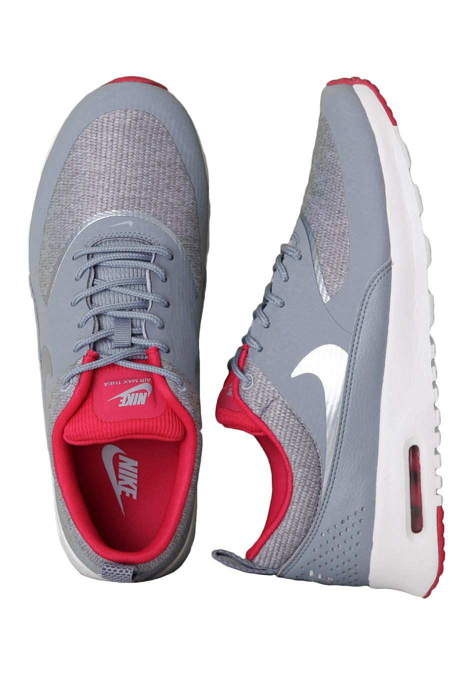 Nike Air Max Thea Grau Fuchsia